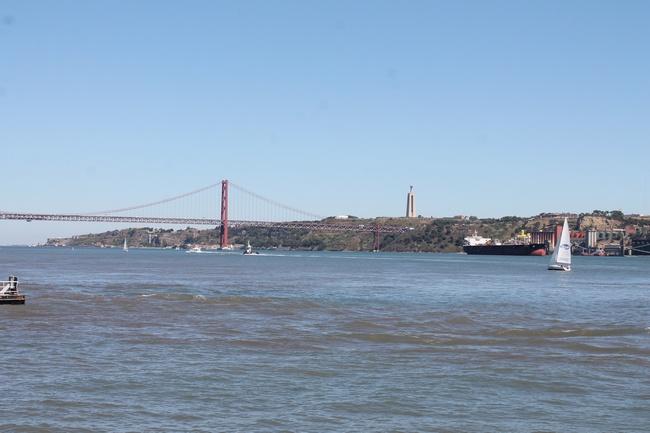 Le pont du 25 avril, Lisbonne