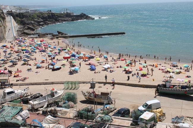 La plage d'Ericeira