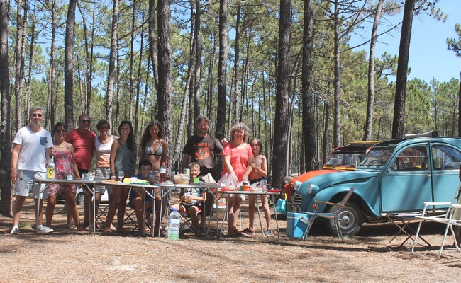 Camping de Vagos près d'Aveiro