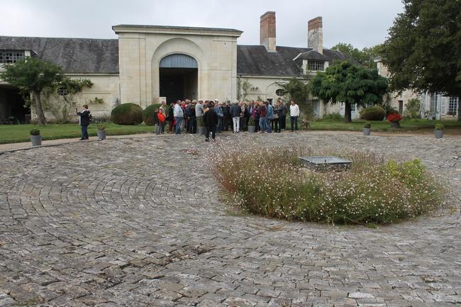 La cour intérieure de la Poste aux Chevaux