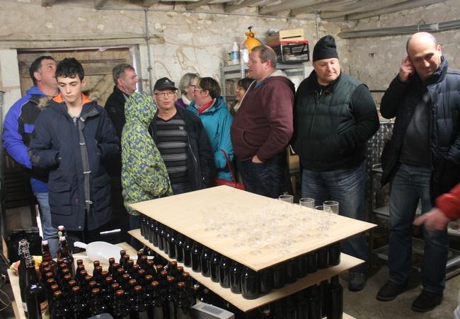 """Dégustation en règle dans les locaux de """"Braslou bière"""""""