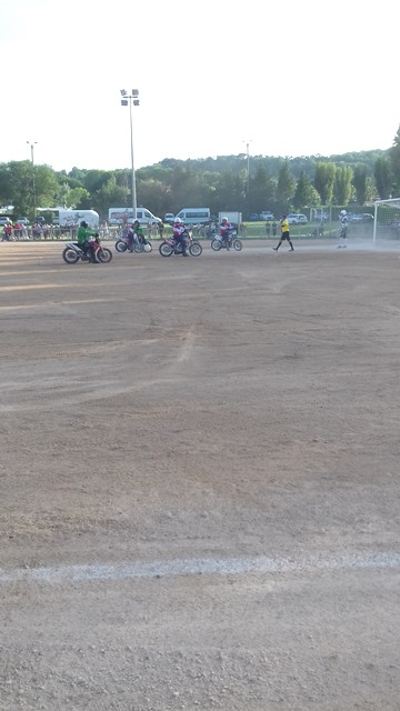 "Match de ""Moto-ball"""
