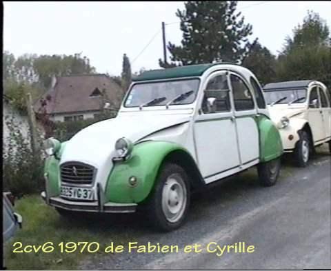 2cv 1970 fabien et cyrille