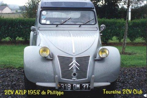 2cv azlp 1958 philippe d
