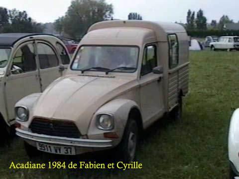 Acadiane 1984 fabien et cyrille