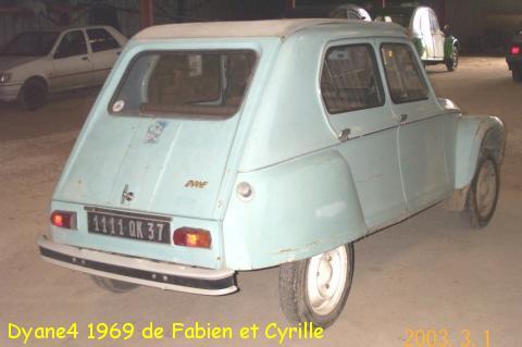 Dyane4 1969 fabien et cyrille