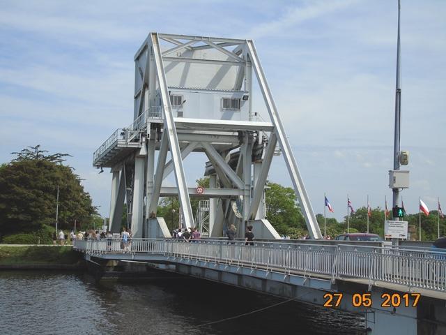 Le Pegasus Bridge à Ranville